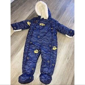 Baby Puffer Bodysuit